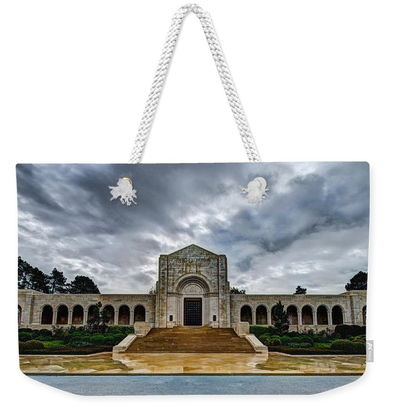 Meuse-argonne Weekender Tote Bag featuring the photograph Meuse-argonne Tribute by Chad Dutson