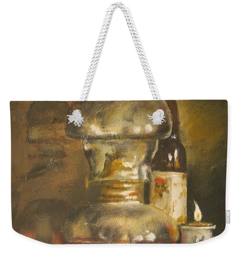 Mexico Weekender Tote Bag featuring the painting Mexico by Mia DeLode