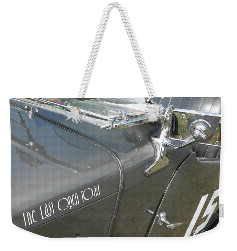 Mg Weekender Tote Bag featuring the photograph Mg Tc by Neil Zimmerman