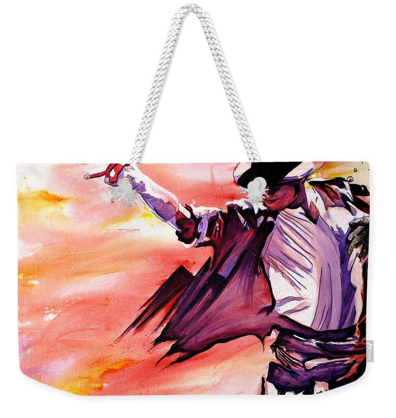 Billie Jean Weekender Tote Bags