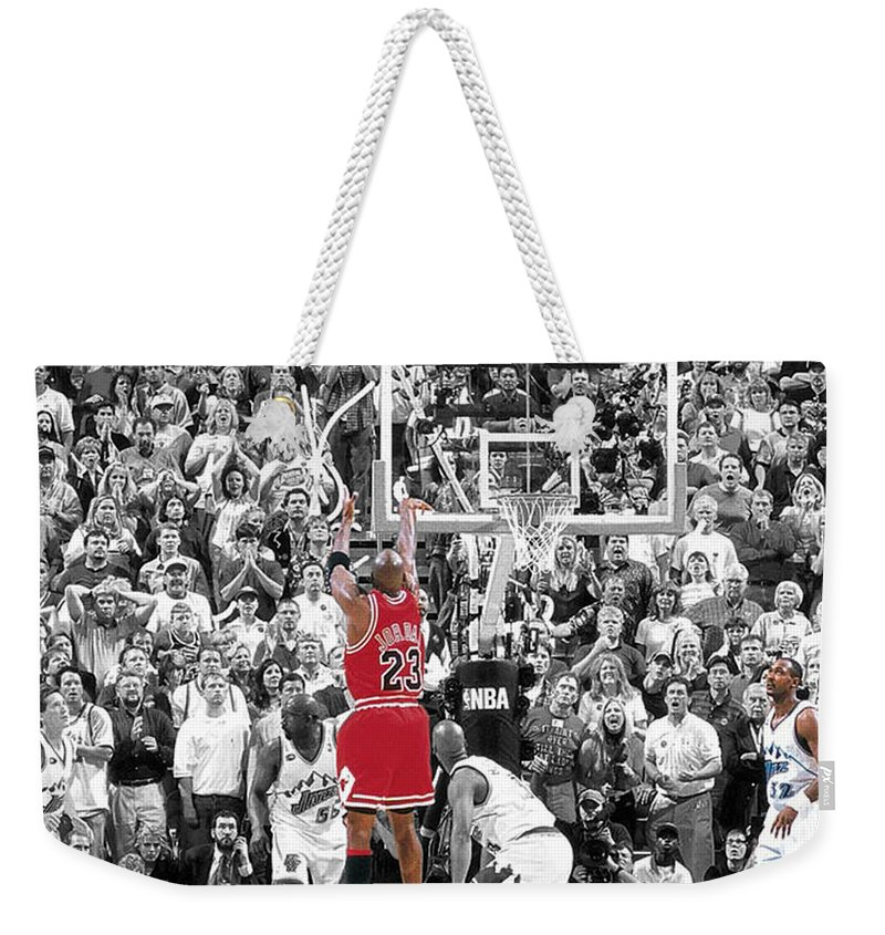 be43643551a2 Michael Jordan Buzzer Beater Weekender Tote Bag for Sale by Brian Reaves