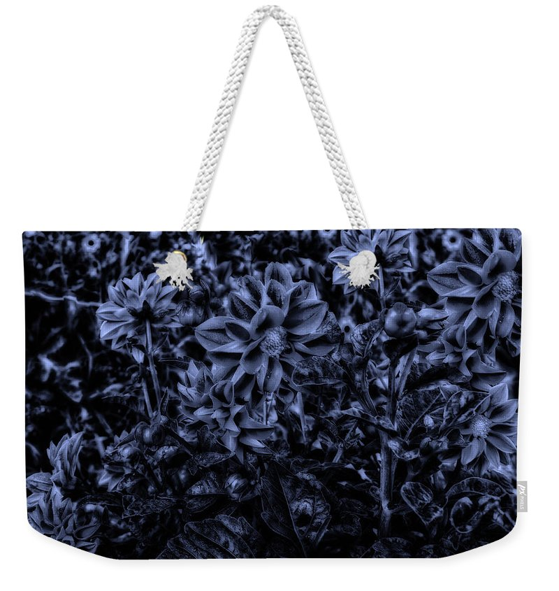 Surrealist Weekender Tote Bag featuring the photograph Midnight In The Garden by Thomas Woolworth