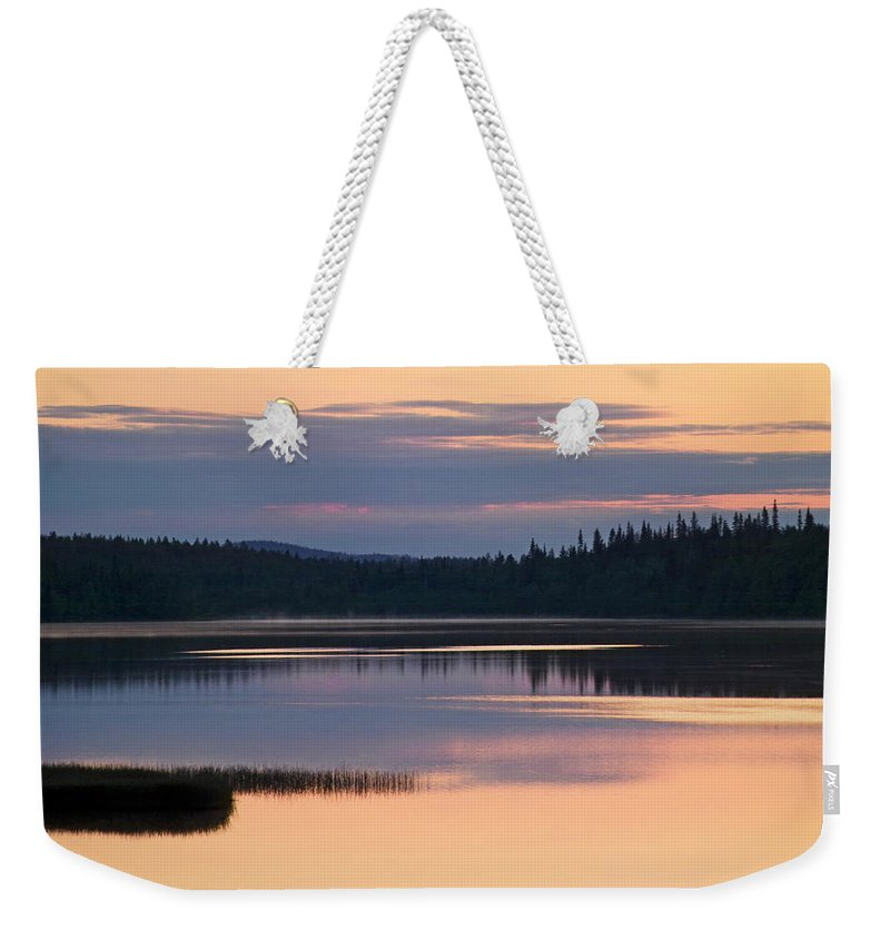 Water Weekender Tote Bag featuring the photograph Midsummer Night's Dream by Heiko Koehrer-Wagner
