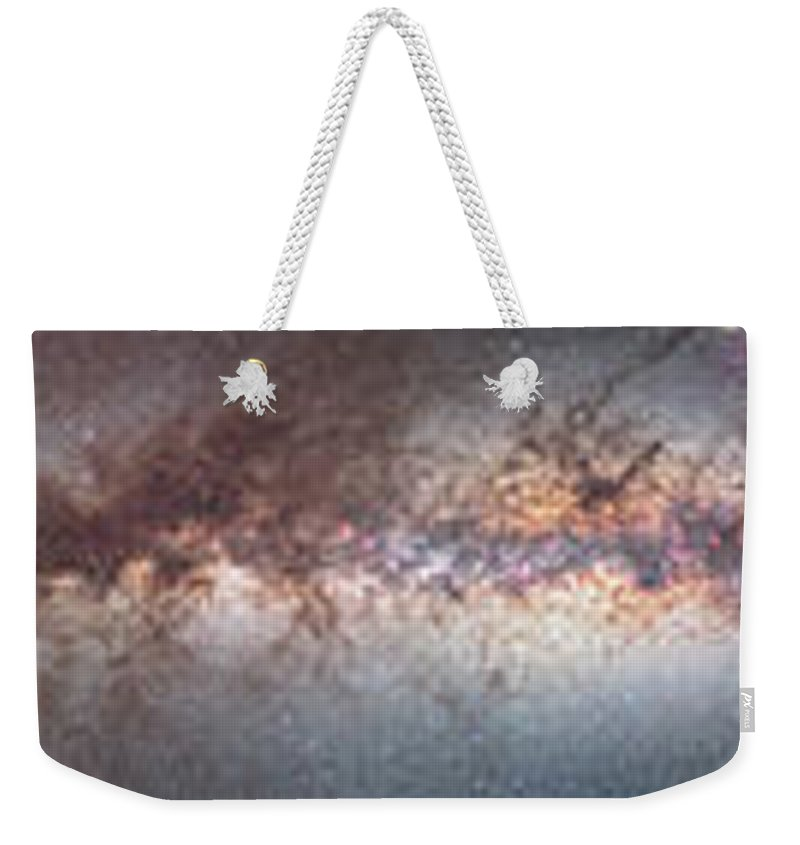 Alan Dyer Weekender Tote Bag featuring the photograph Milky Way 360� Panorama by Alan Dyer