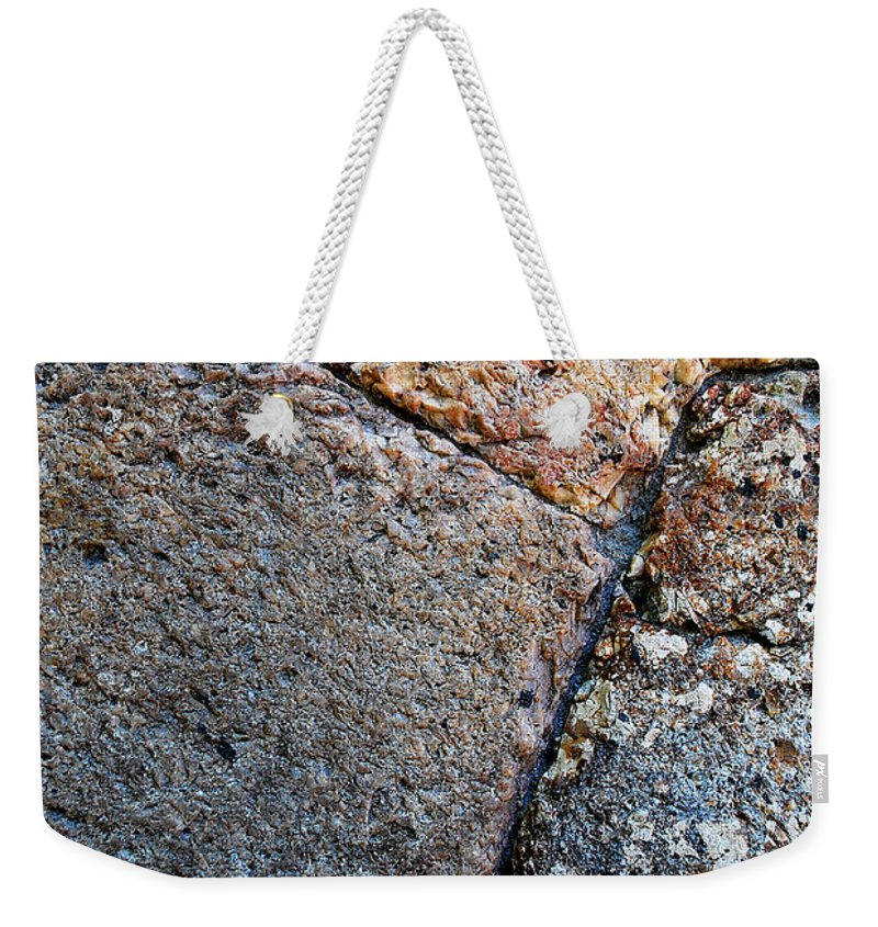 Becky Furgason Weekender Tote Bag featuring the photograph #millstone by Becky Furgason