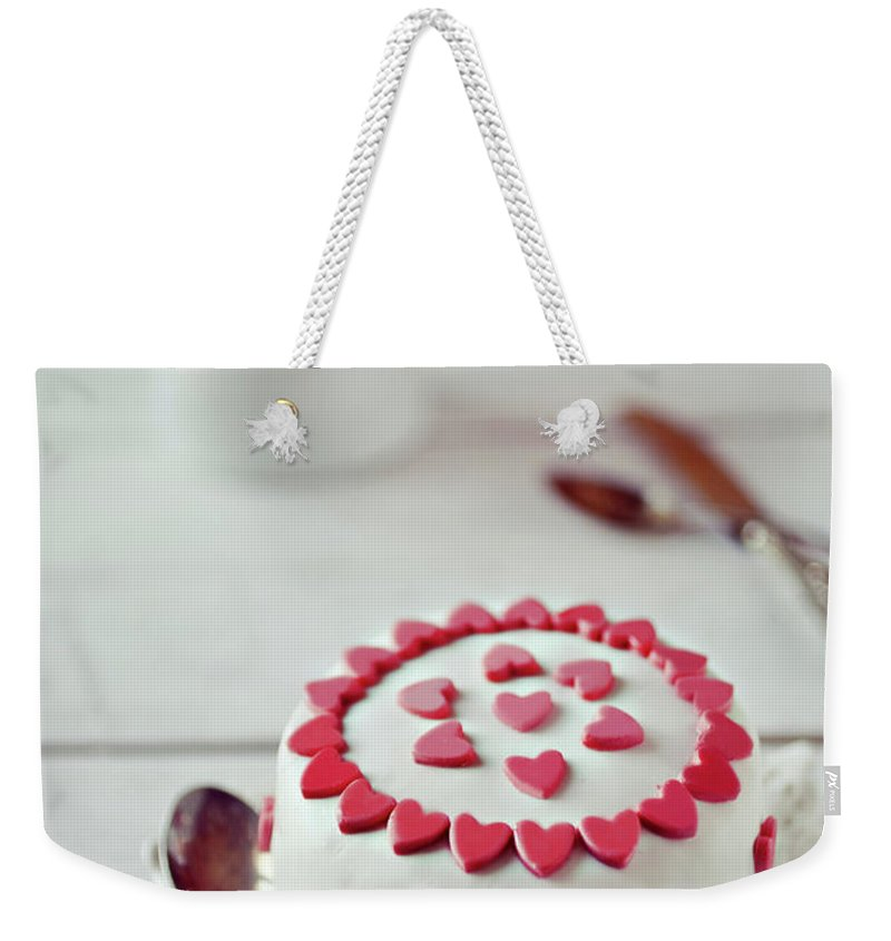 Temptation Weekender Tote Bag featuring the photograph Mini Tortine by Uccia photography
