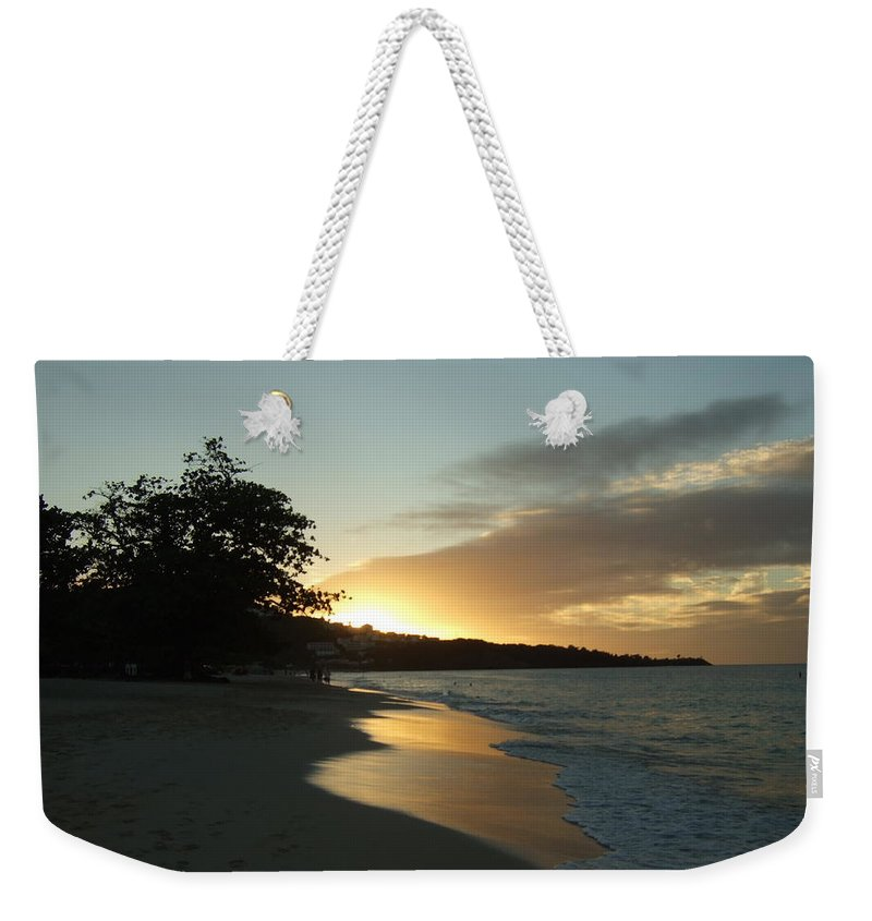 Weekender Tote Bag featuring the photograph Mirror by Katerina Naumenko