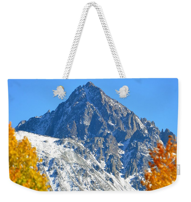 Mountain Splendor Weekender Tote Bag featuring the photograph Mountain Splendor by David Lee Thompson