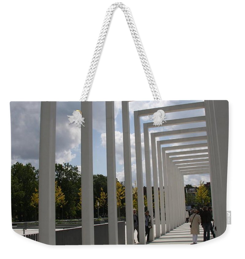 Archway Weekender Tote Bag featuring the photograph Modern Archway - Schwerin Garden - Germany by Christiane Schulze Art And Photography