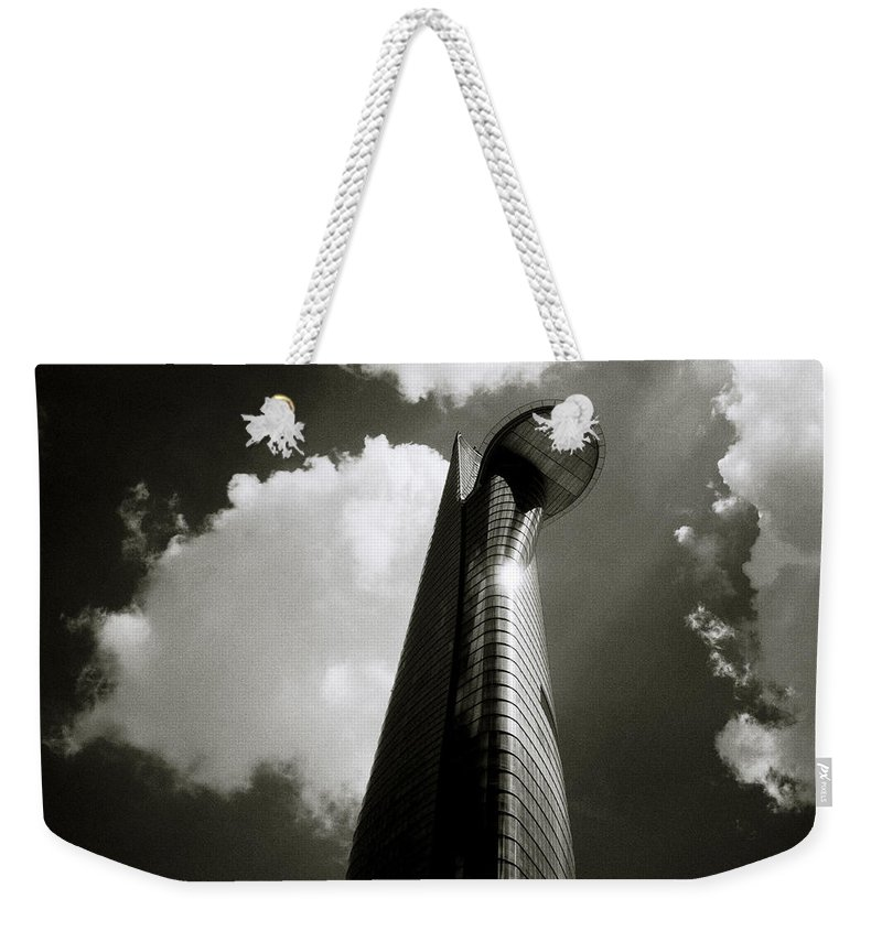 Asia Weekender Tote Bag featuring the photograph Modern Saigon by Shaun Higson