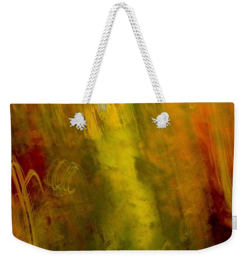 Abstracts Weekender Tote Bag featuring the photograph Mojo by Darryl Dalton