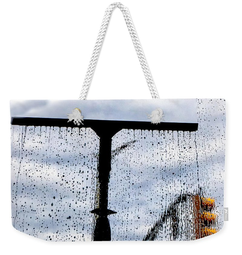 Window Weekender Tote Bag featuring the photograph Molly's Window by Bob Orsillo