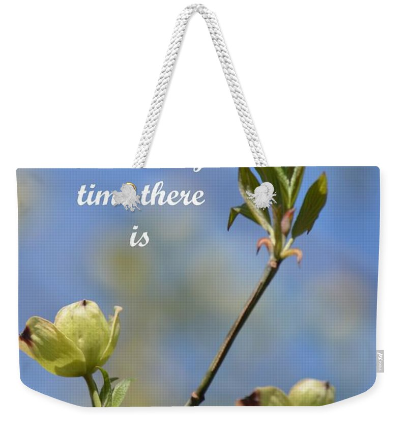 Moment In Time Weekender Tote Bag featuring the photograph Moment In Time by Maria Urso