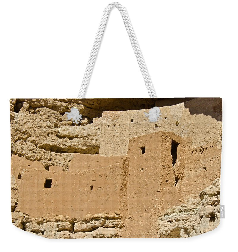 Montezuma Weekender Tote Bag featuring the photograph Montezumas Castle 23 by Douglas Barnett