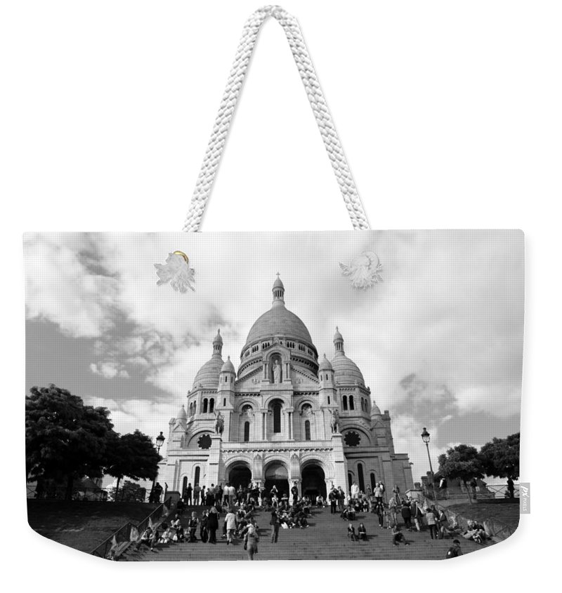 Weekender Tote Bag featuring the photograph Montmartre by Jennifer Ann Henry
