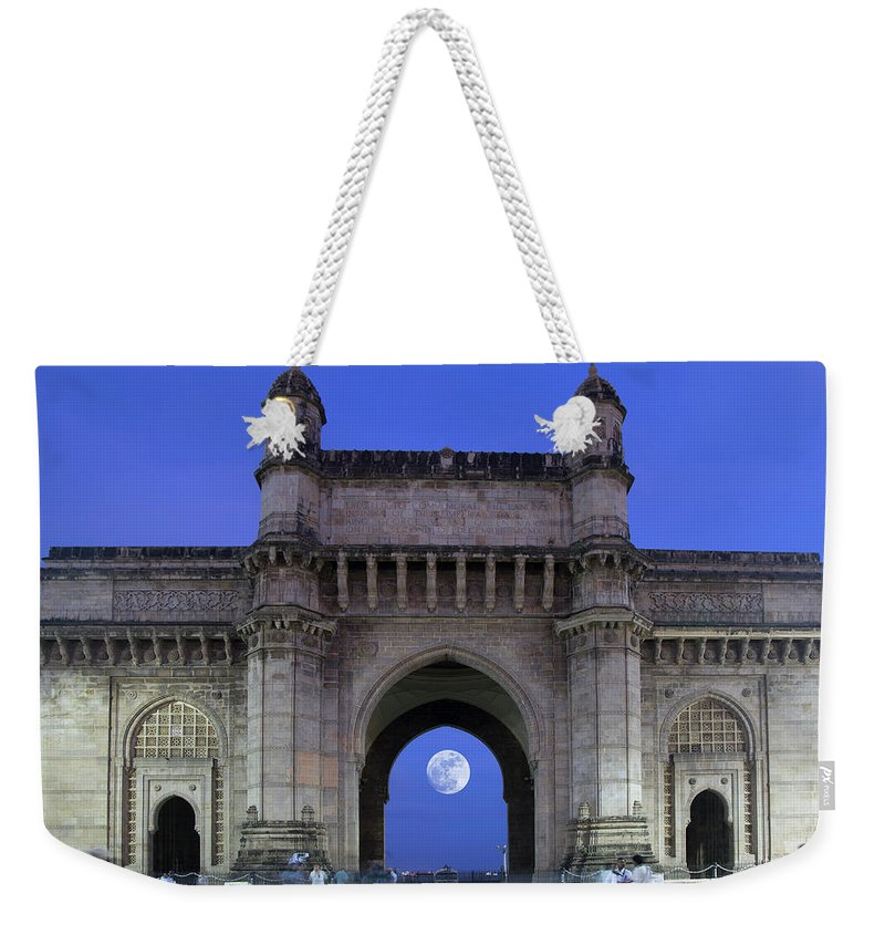 Arch Weekender Tote Bag featuring the photograph Monument Entrance by Grant Faint