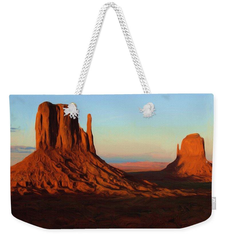Scenic Weekender Tote Bags