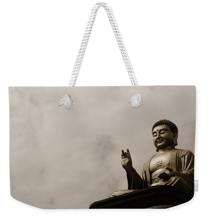 Tranquility Weekender Tote Bag featuring the photograph Monument by Welcome To Buy My Photos