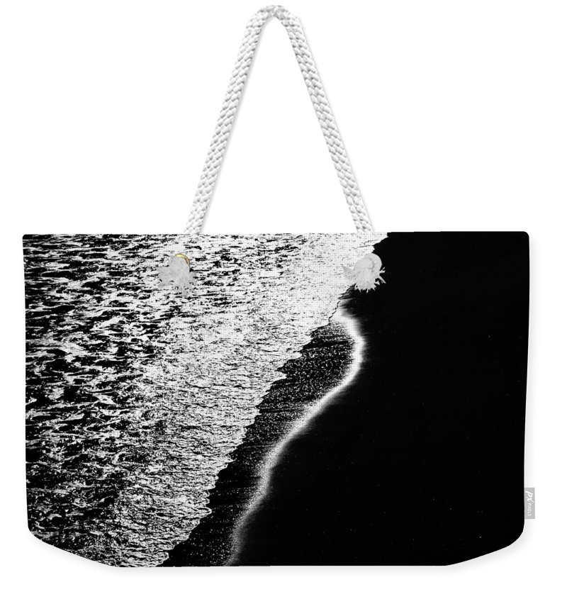 Abstract Weekender Tote Bag featuring the photograph Moon Light Rhapsody by Bob Orsillo