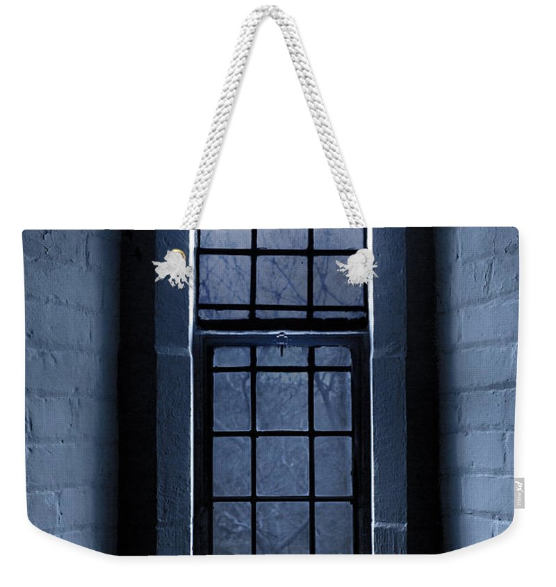Window Weekender Tote Bag featuring the photograph Moonlight by Dale Kincaid