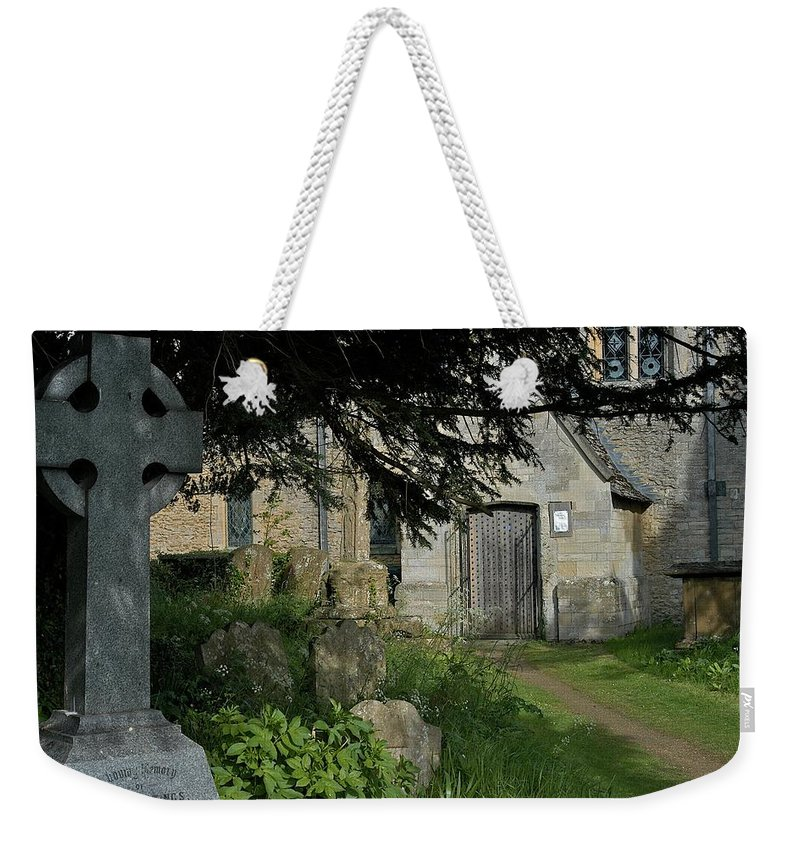 Church Weekender Tote Bag featuring the photograph More Room by Joseph Yarbrough