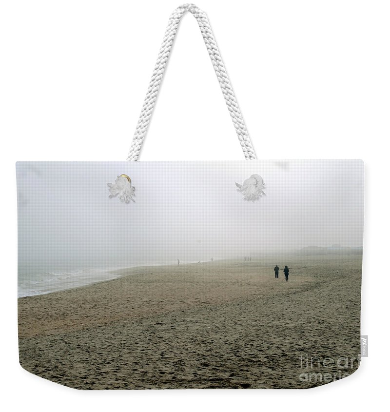 Fog Weekender Tote Bag featuring the photograph Morning Fog by Cindy Roesinger