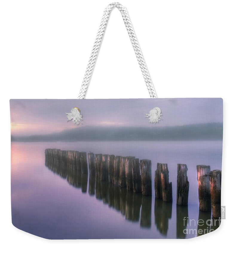 Art Weekender Tote Bag featuring the photograph Morning Fog by Veikko Suikkanen