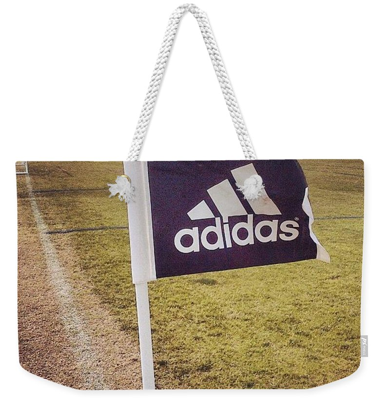 Adidas Weekender Tote Bag featuring the photograph Morning Game by Scott Pellegrin