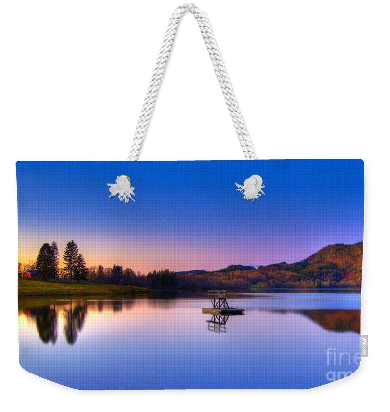 Morning Glory Weekender Tote Bags