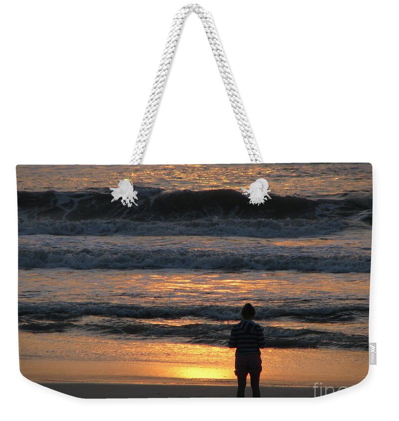 Patzer Weekender Tote Bag featuring the photograph Morning Has Broken by Greg Patzer