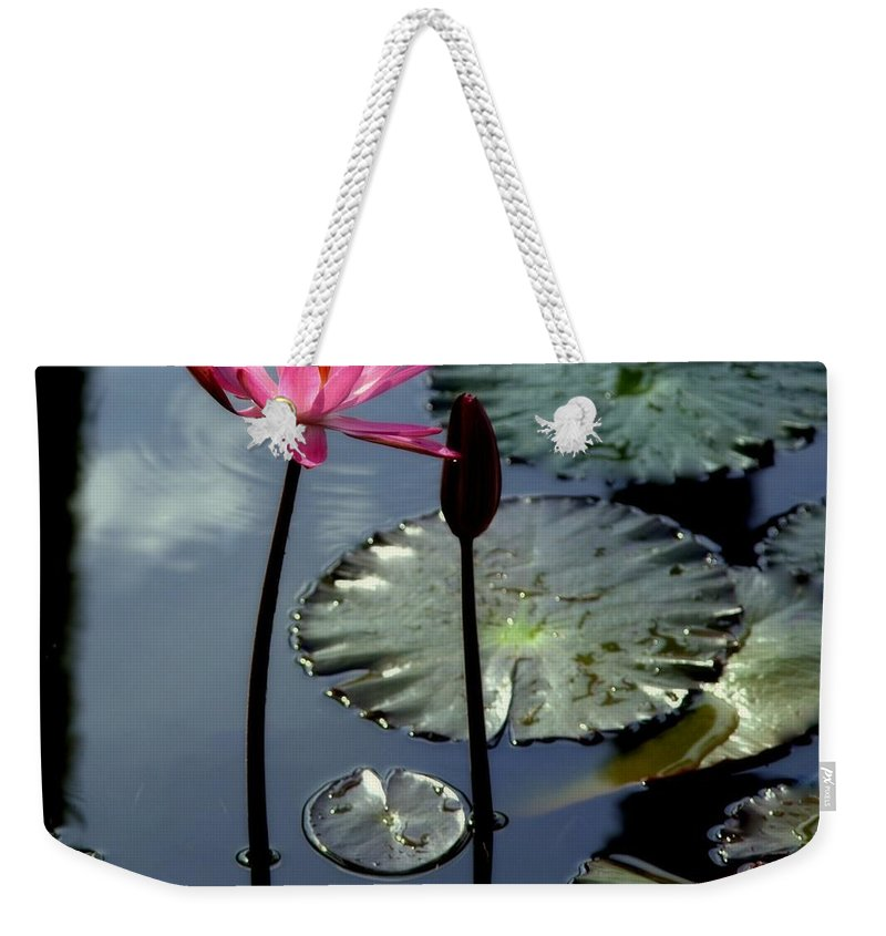 Lilly Pad Weekender Tote Bags