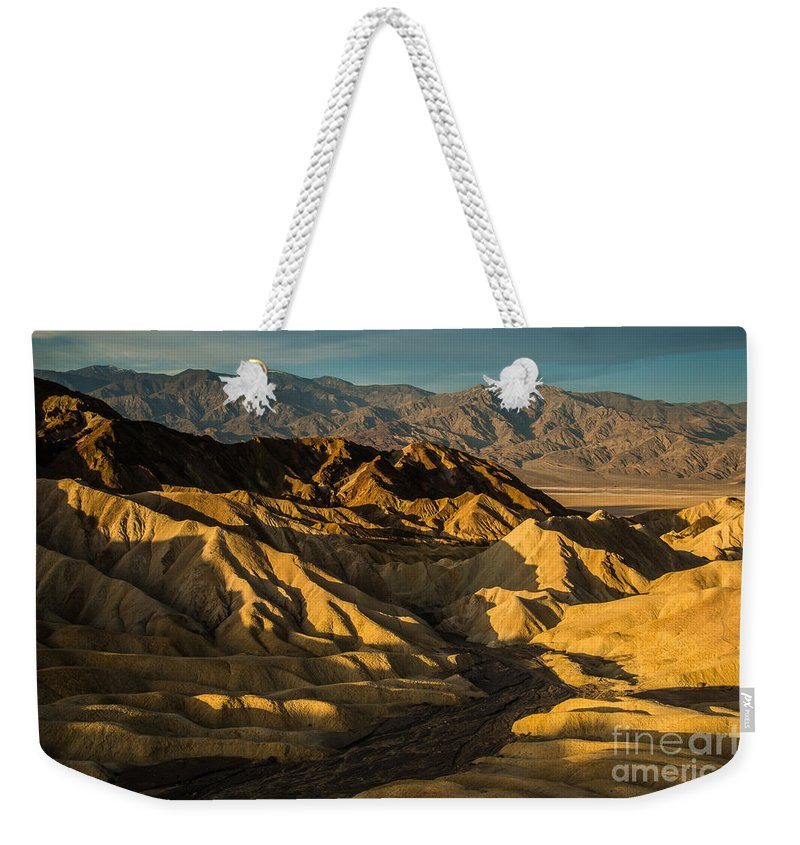 2014 Weekender Tote Bag featuring the photograph Morning Shadows by Joan Wallner