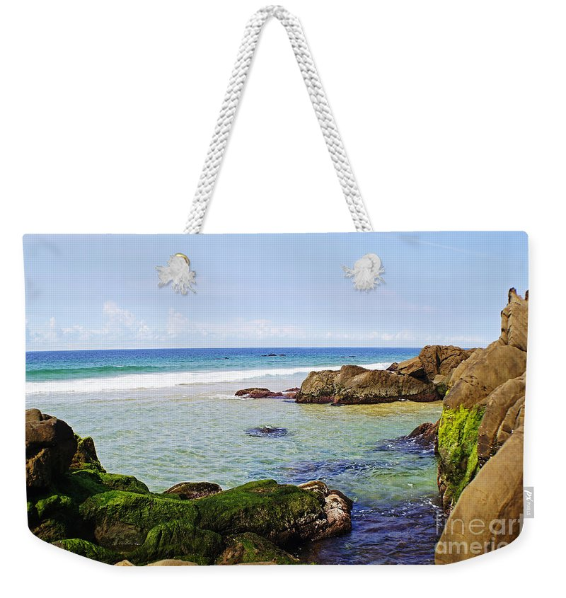 Nature Weekender Tote Bag featuring the photograph Moruya Heads 1 by Ben Yassa