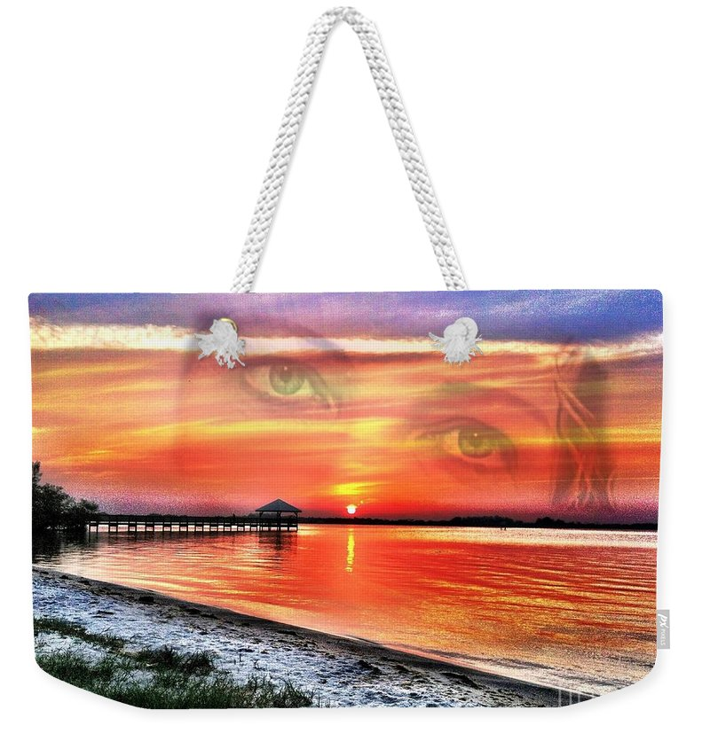Mother Weekender Tote Bag featuring the photograph Mother by Carlos Avila
