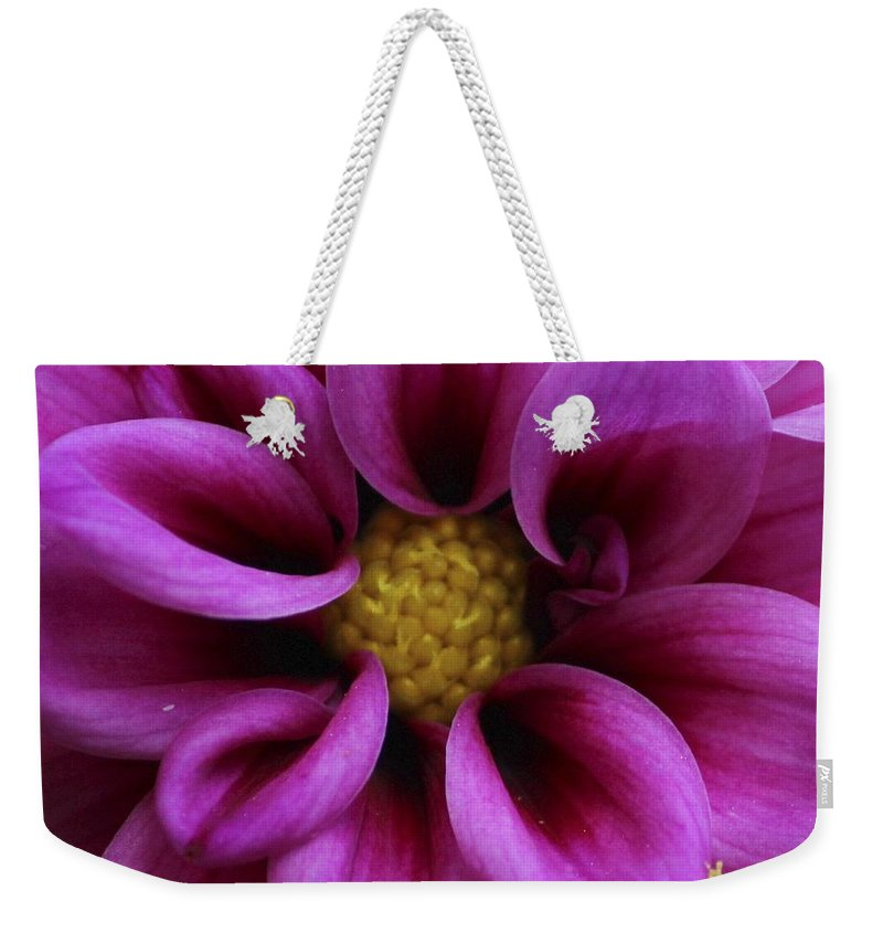 Flower Weekender Tote Bag featuring the photograph Mothers Flowers by Tiffany Erdman