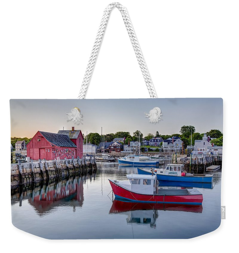 Motif No. 1 Weekender Tote Bag featuring the photograph Motif Number 1 by Susan Candelario