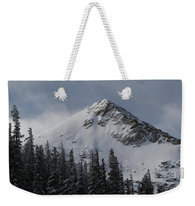 Mount Crested Butte Weekender Tote Bag featuring the photograph Mount Crested Butte 3 by Raymond Salani III
