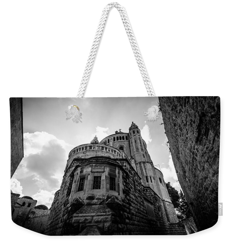 Abbey Weekender Tote Bag featuring the photograph Mount Zion Abbey by David Morefield
