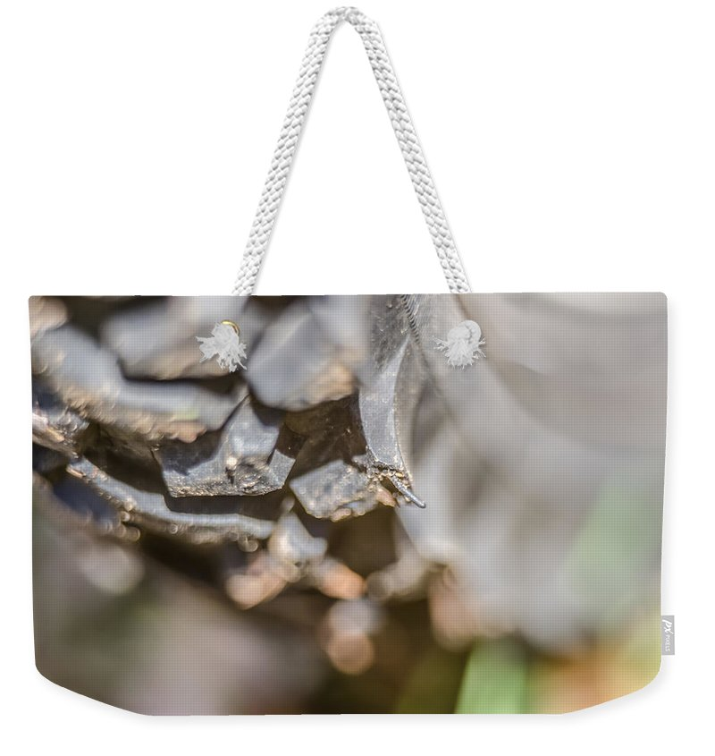 Bike Weekender Tote Bag featuring the photograph Mountain Bike by Alex Grichenko