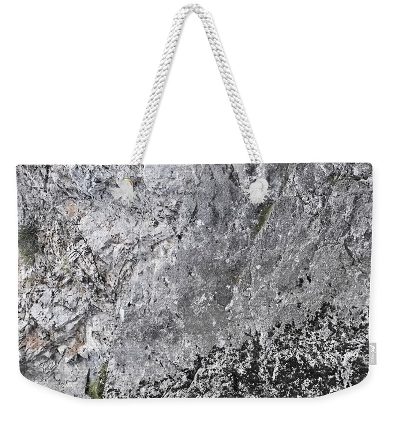 Mountain Weekender Tote Bag featuring the photograph Mountain Side by Shelly Fox