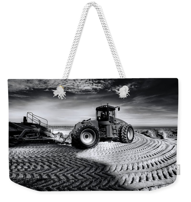Dredge Weekender Tote Bag featuring the photograph Moving Heaven And Earth by Wayne Sherriff