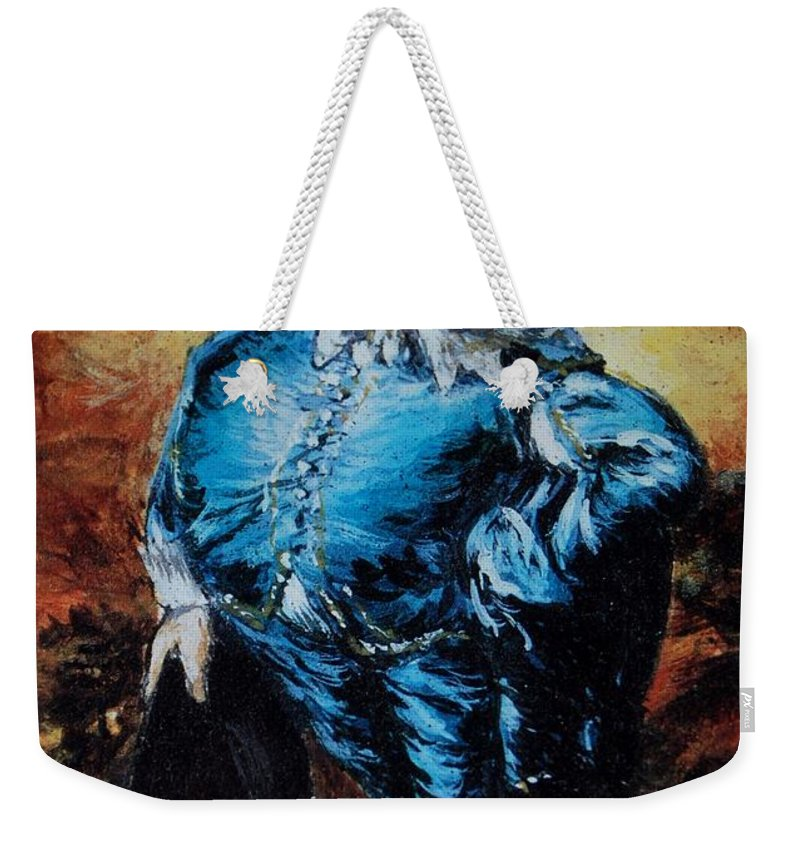 Mr Toad Weekender Tote Bag featuring the photograph Mr Toad by Rob Hans