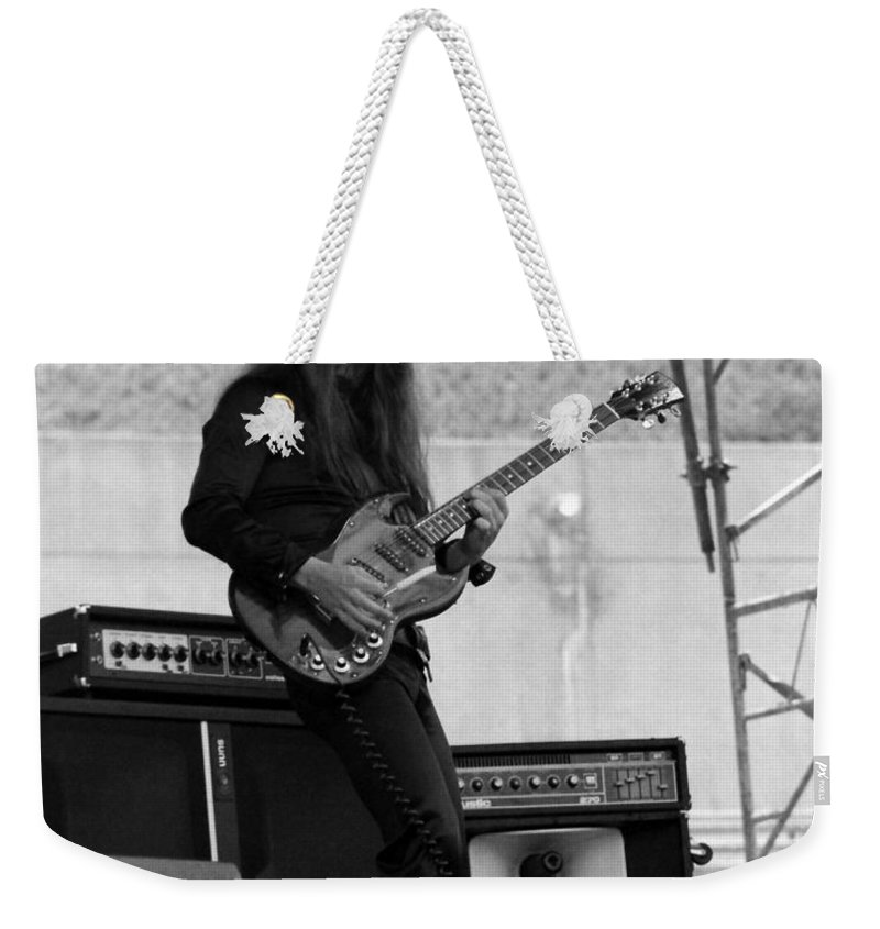 Frank Marino Weekender Tote Bag featuring the photograph Mrdog #21 Crop 2 by Ben Upham