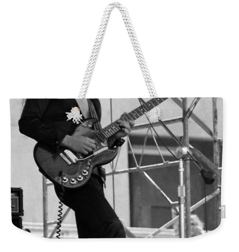 Frank Marino Weekender Tote Bag featuring the photograph Mrdog #22 Crop 2 by Ben Upham