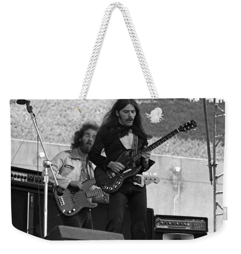 Frank Marino Weekender Tote Bag featuring the photograph Mrdog #23 by Ben Upham