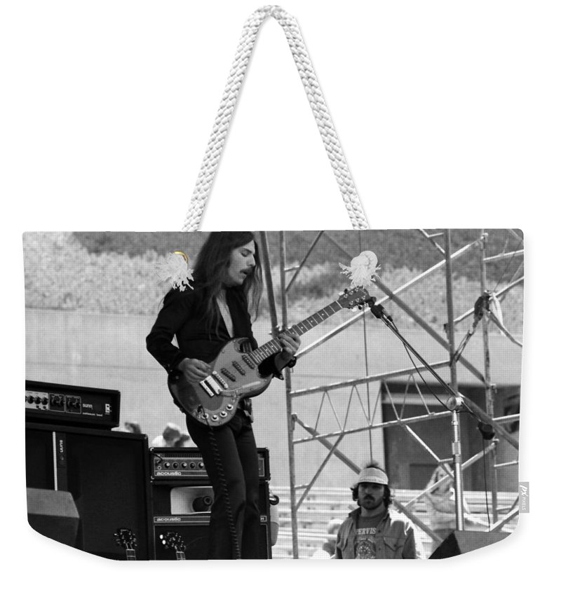 Frank Marino Weekender Tote Bag featuring the photograph Mrdog #25 by Ben Upham