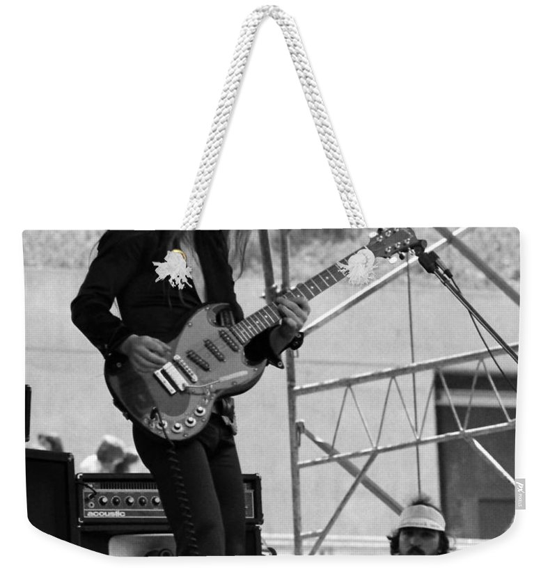 Frank Marino Weekender Tote Bag featuring the photograph Mrdog #25 Crop 2 by Ben Upham