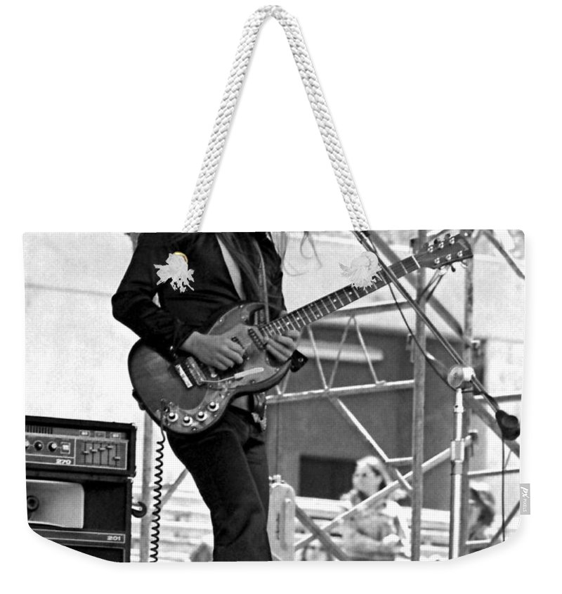 Frank Marino Weekender Tote Bag featuring the photograph Mrdog #26 Crop 2 by Ben Upham