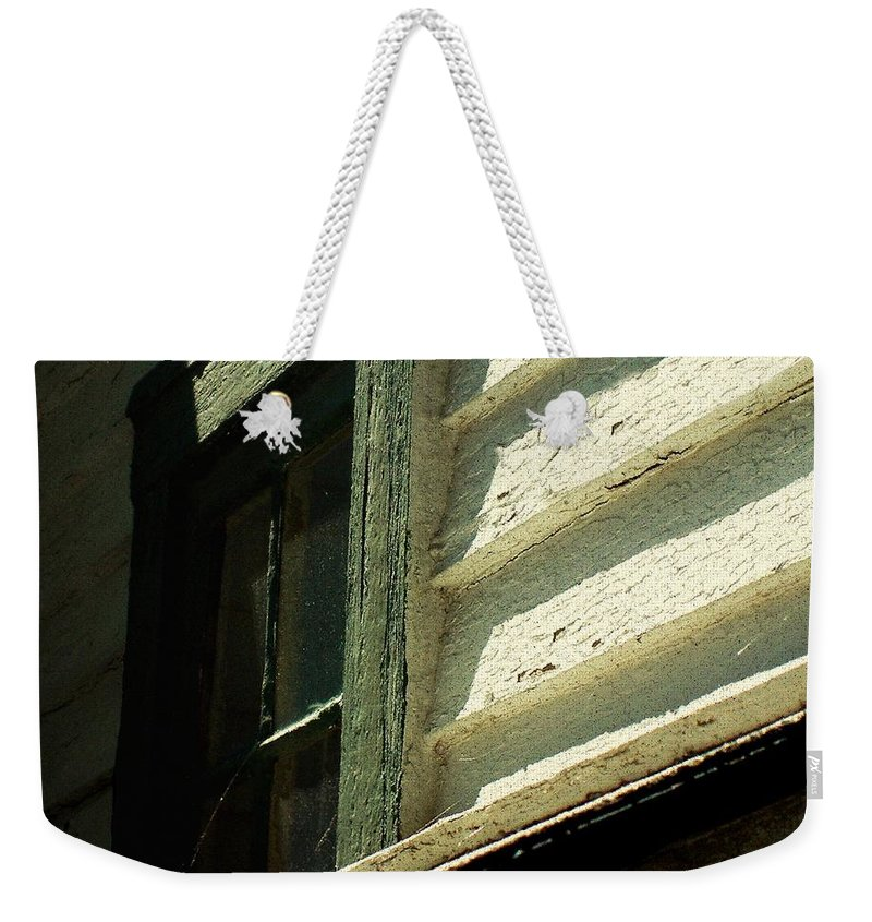 Window Weekender Tote Bag featuring the painting Mrs. Cameron's Window by RC DeWinter