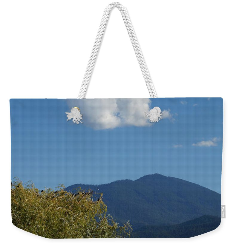 Mt Ashland Weekender Tote Bag featuring the photograph Mt Ashland In Late Summer by Mick Anderson